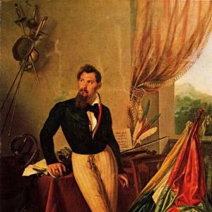 Франческо Хайес - Портрет графа Бальони