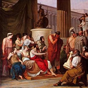 Франческо Хайес - Одиссей при дворе Алкиноя