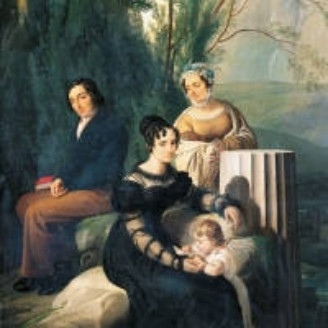 Франческо Хайес - Портрет семейства Стампа ди Сончино