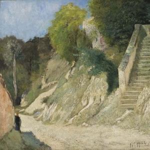 Хилл Карл Фредерик - Крутой подъём в Монтиньи-сюр-Луан