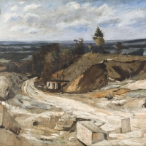 Хилл Карл Фредерик - Каменный карьер у реки Уаз II