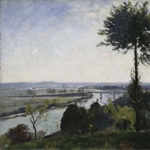 Хилл Карл Фредерик - Дерево и река III