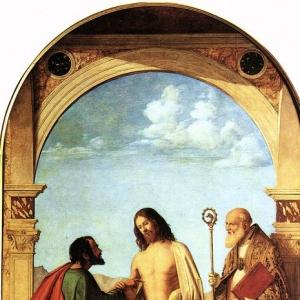 Джованни Батиста Чима да Конельяно - Сомнения Св. Фомы и епископа Св. Маньо