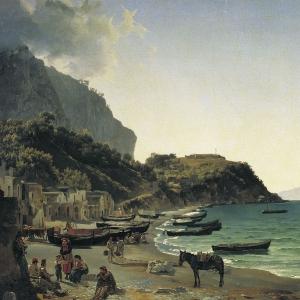 Большая гавань на острове Капри. 1828