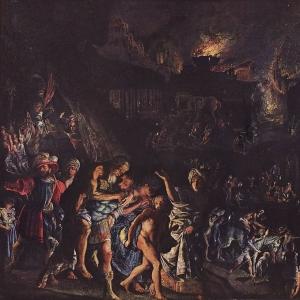 Эльсхеймер Адам - Пожар Трои