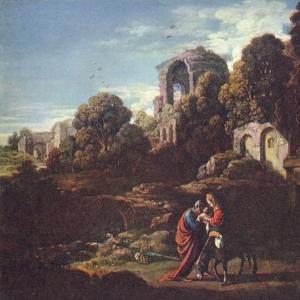 Эльсхеймер Адам - Бегство в Египет