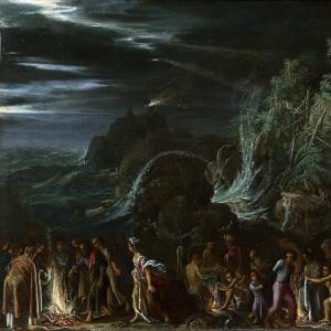 Эльсхеймер Адам - Святой Павел на Мальте