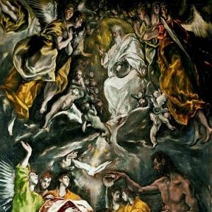 Эль Греко - Крещение Христа