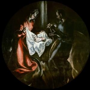 Эль Греко - Рождество Христово