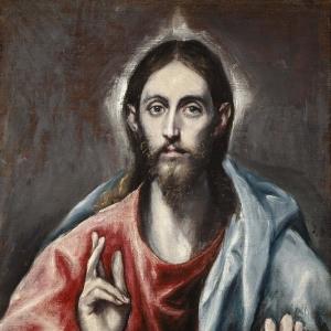 Эль Греко - Благословляющий Христос