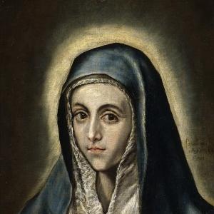 Эль Греко - Дева Мария