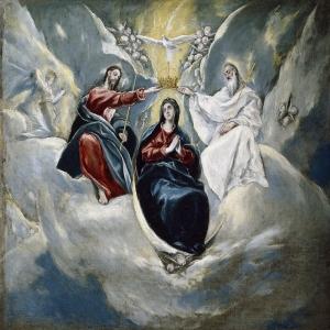 Эль Греко - Коронование Девы Марии