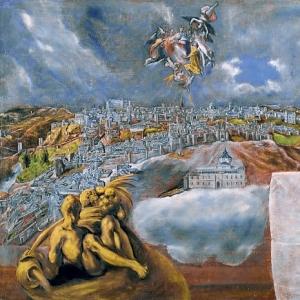 Эль Греко - Вид и план Толедо