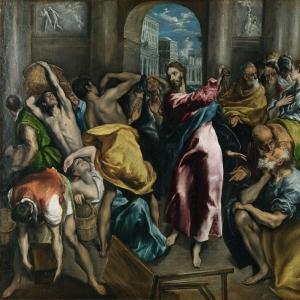 Эль Греко - Изгнание торгующих из храма