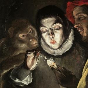 Эль Греко - Аллегория (Мальчик, зажигающий свечу)