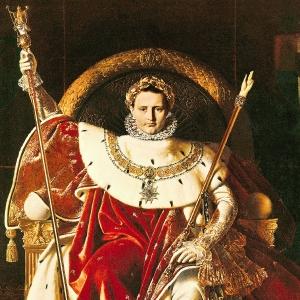 1806_Наполон I на императорском троне