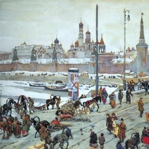 Москворецкий мост. Старая Москва