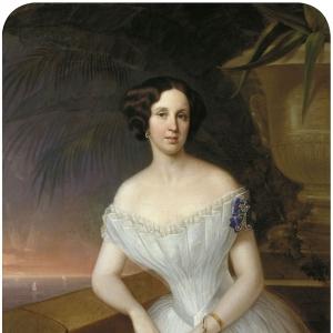 Парадный женский портрет